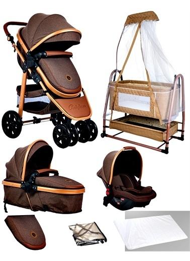 Baby Home Baby Home 935 Travel Sistem Bebek Arabası 505 Maya Anne Yanı Sepet Beşik Renkli